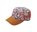 PATCHWORK MESH WORK CAP