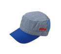 COMB STRIPE MESH WORK CAP
